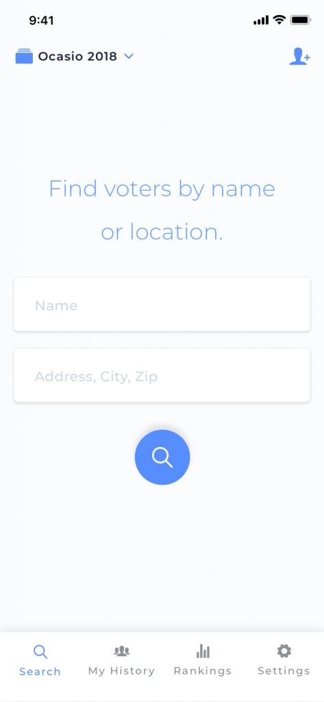 Search Screen