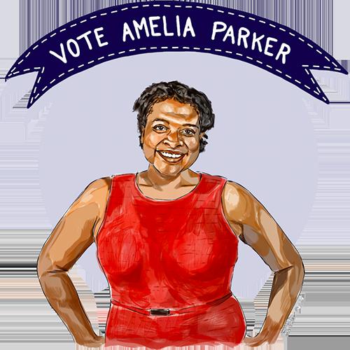 Vote Amelia Parker