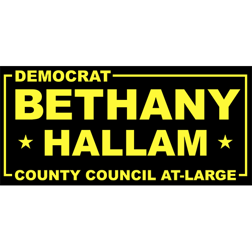 Bethany Hallam for City Council at Large