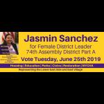 Jasmin Sanchez for District Leader