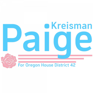 Paige Kreisman for Oregon House District 42