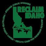 Reclaim Idaho Logo